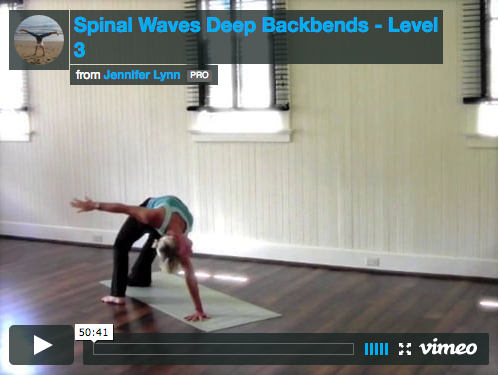 Spinal Waves Deep Backbends