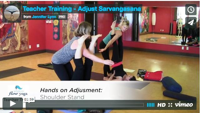 Teacher Training Adjust Sarvangasana Wisdom Flow Yoga Joyful Movement On Maui Hawaii